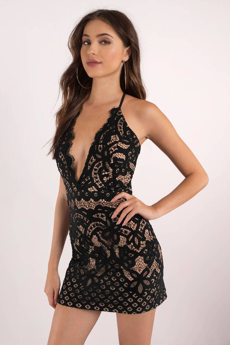 49eed37fc1f3 Dreamer Lace Bodycon Dress in 2019