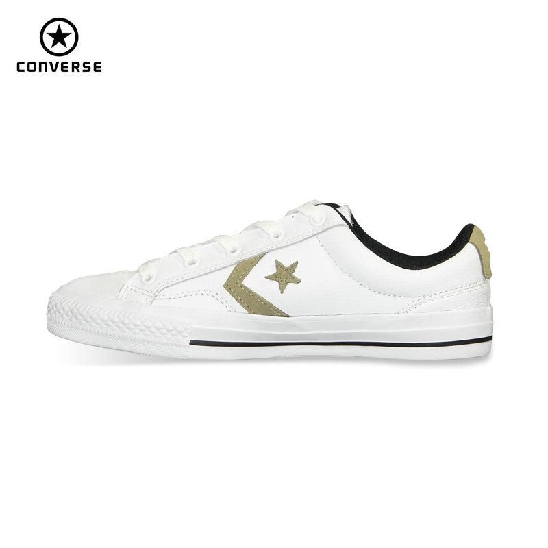 50% pris separationsskor nya stilar new original Converse Star Player Leather man's women's sneakers ...