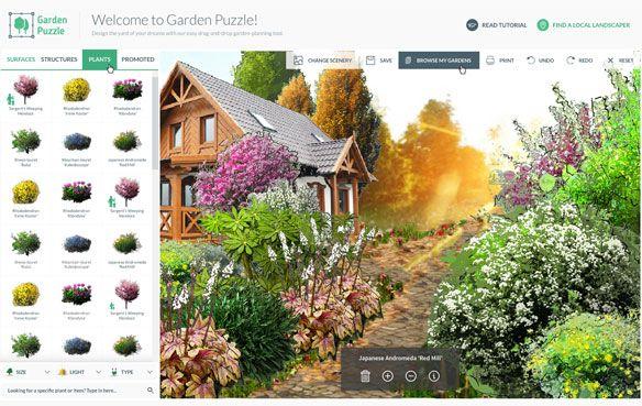 Gardenpuzzle Online Garden Design App Diseno De Jardin Jardines Disenos De Unas