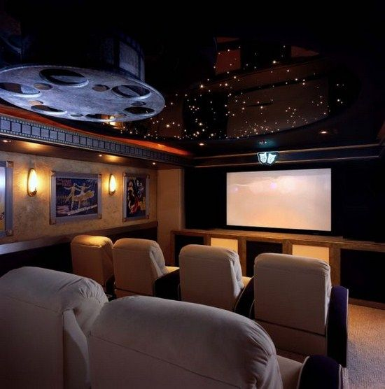 Home Theater Rooms, At Home