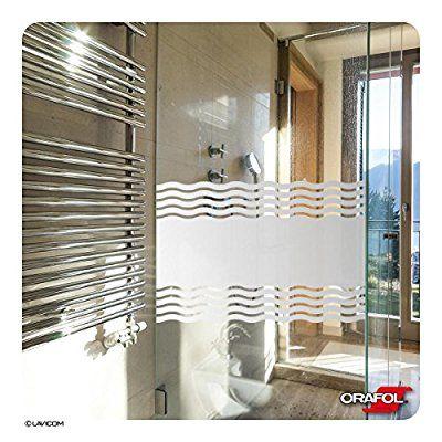 Glasdekorfolie Dusche Folie Fur Duschkabine Sichtschutz Bad