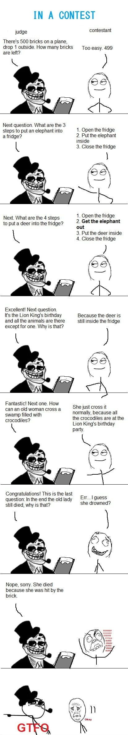 Troll judge