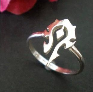 Buy World of Warcraft Ring WoW Horde Symbol online 690 with FREE