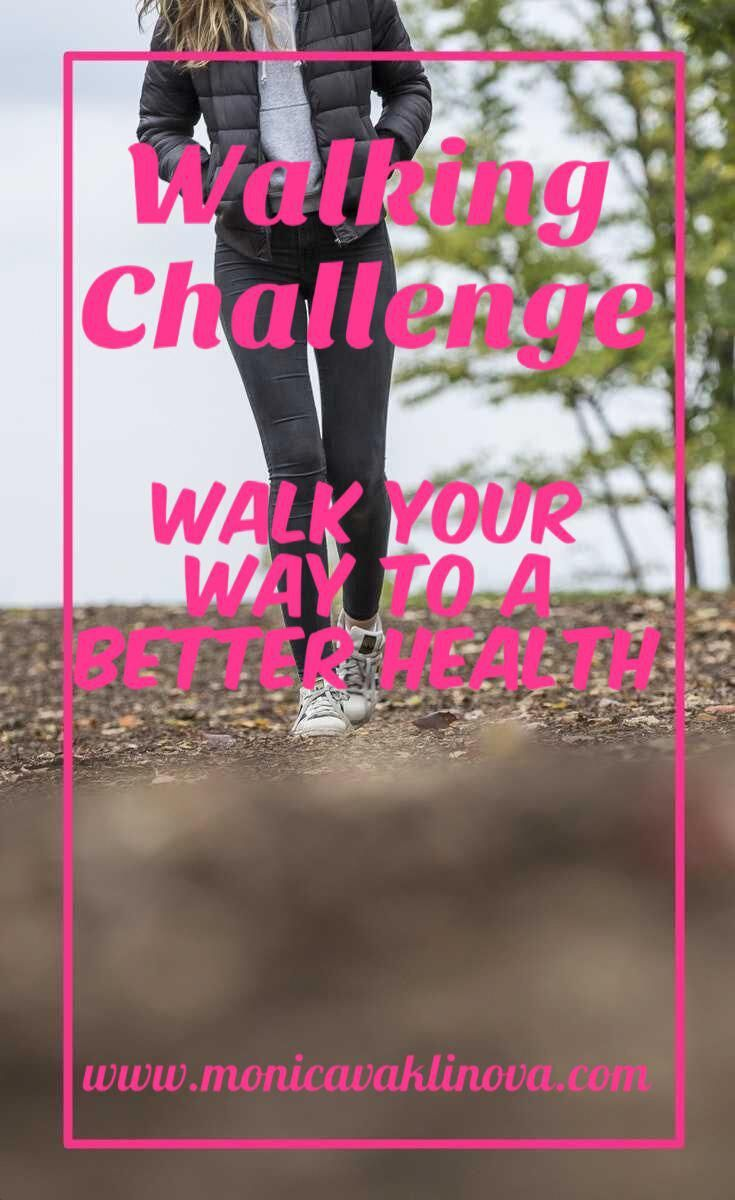 Top benefits of walking! This walking challenge will make you walk your way to a better health! #Fit...