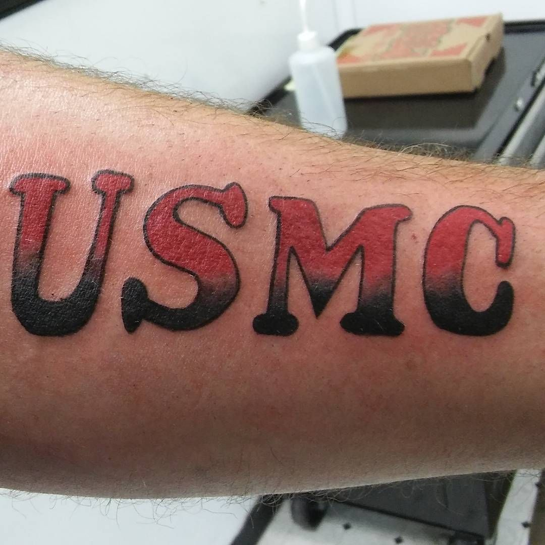 75 Cool USMC Tattoos Meaning, Policy and Designs (2019