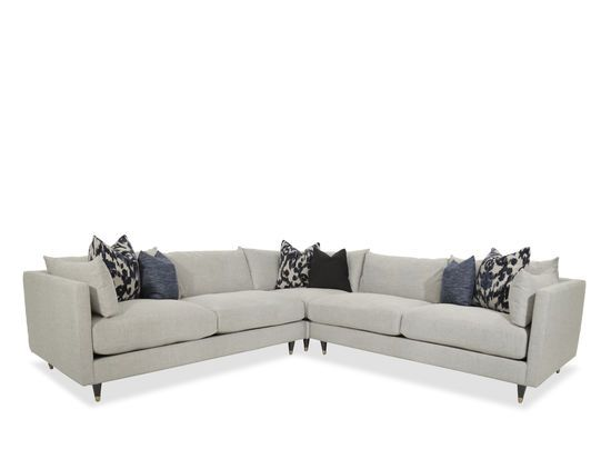 Best Jonathan Louis Pia Three Piece Stone Sectional Mid 400 x 300