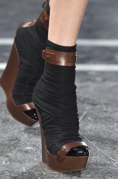 : Shoes at Givenchy Spring...