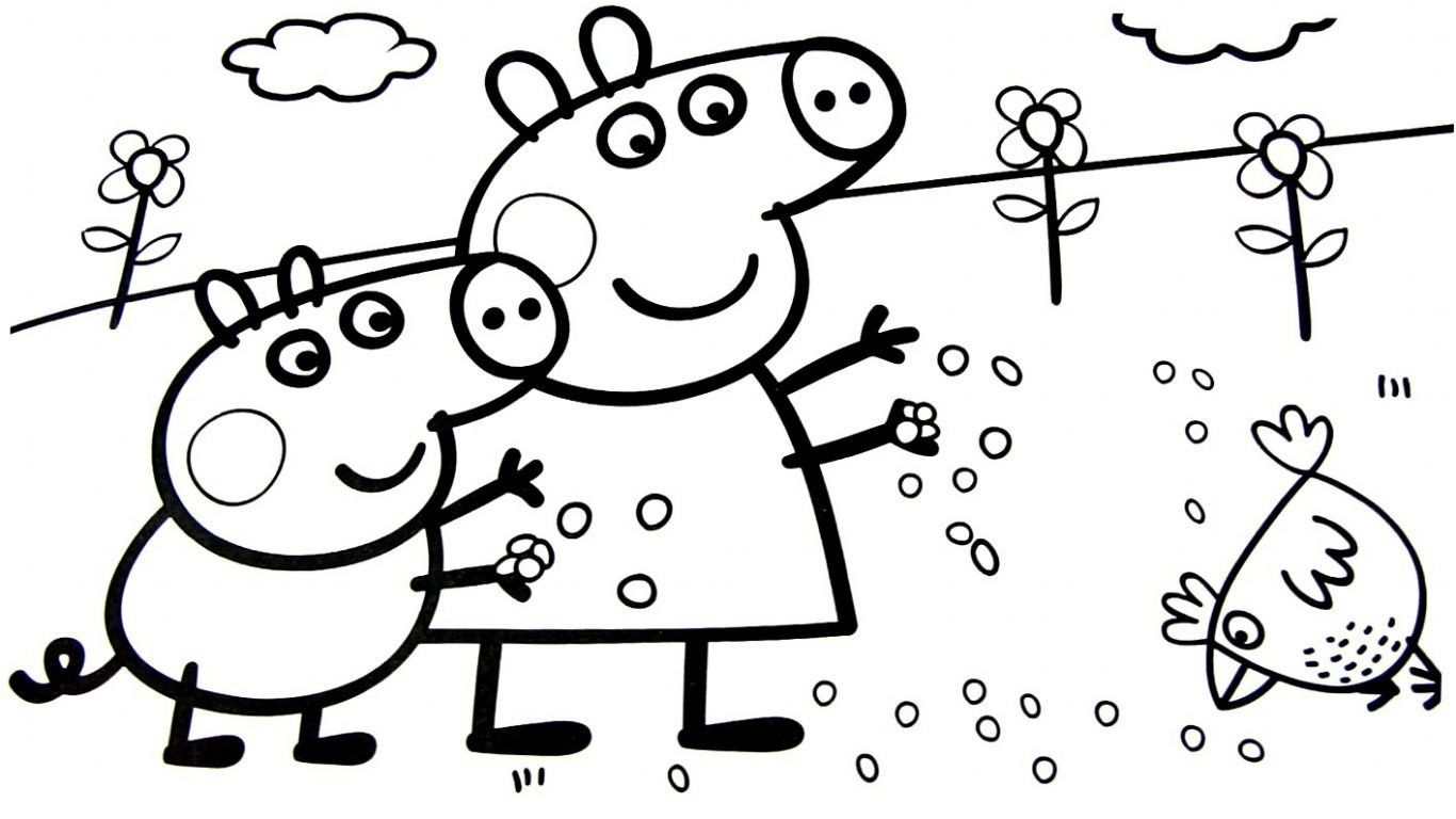 Peppa Pig Fall Coloring Pages – From the thousands of photographs on ...
