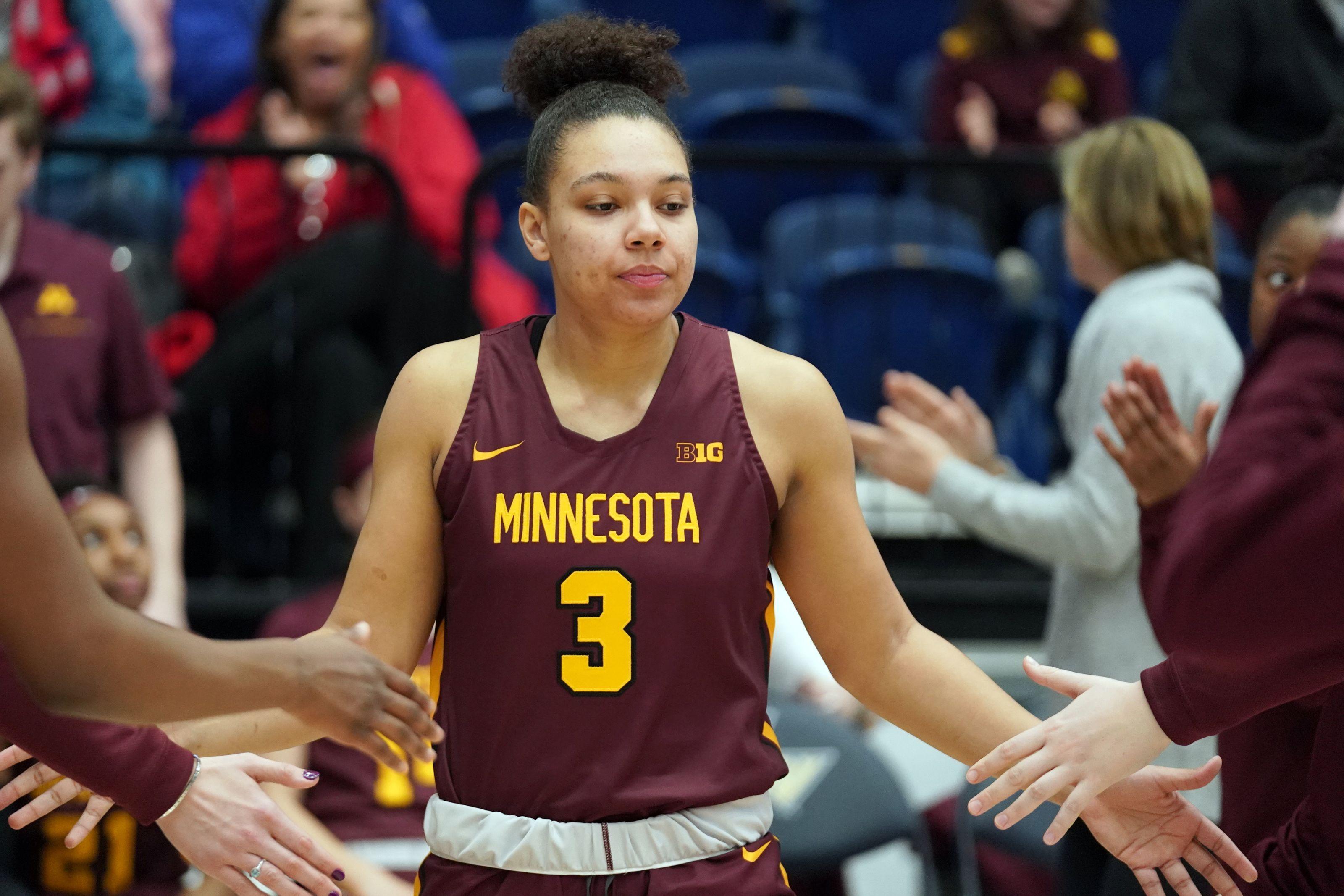 Women S Basketball Minnesota S Destiny Pitts Intends To Transfer In 2020 Womens Basketball Minnesota Minnesota Gophers
