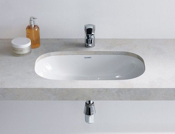 Ceramica Duravit D Code.Duravit D Code 495mm Undercounter Vanity Basin 0338490000