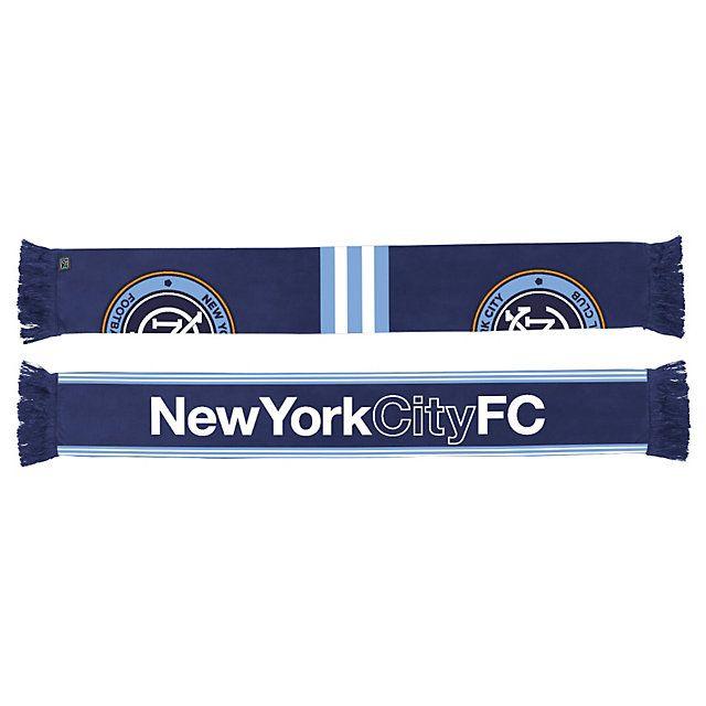 nycfc split logo scarf
