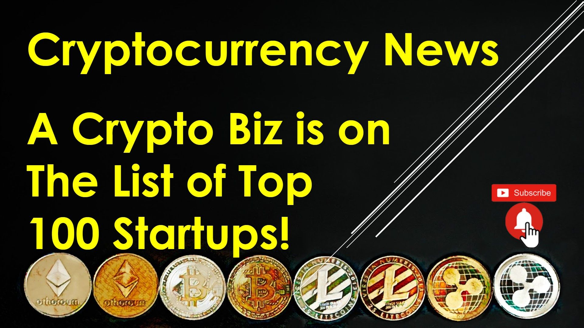 Cryptocurrency News A Crypto Biz Is On The List Of Top 100 Startups Cryptocurrency News Cryptocurrency Bitcoin