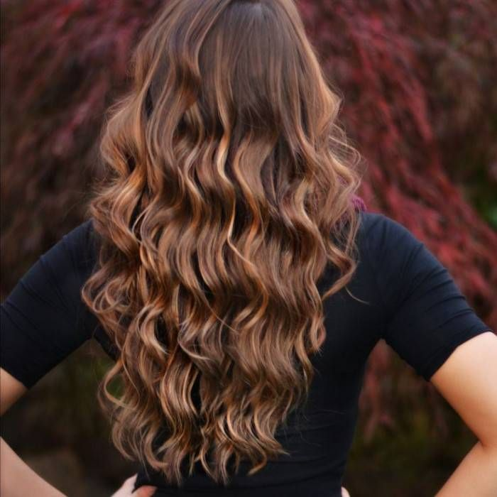 Cute Brown Hair With Caramel Highlights My Style Pinterest