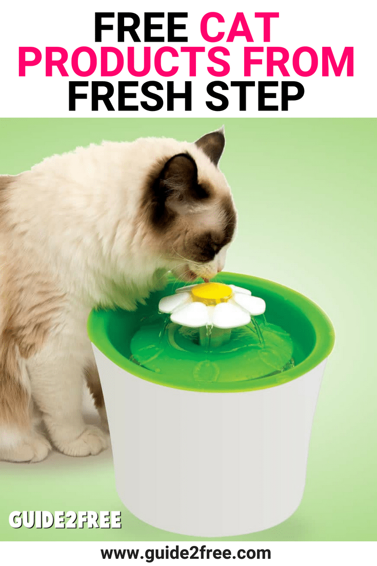 FREE Cat Products from Fresh Step Free cat food, Cat