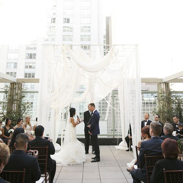 Best Of 2014 15 Our Favorite Ceremony Backdrops