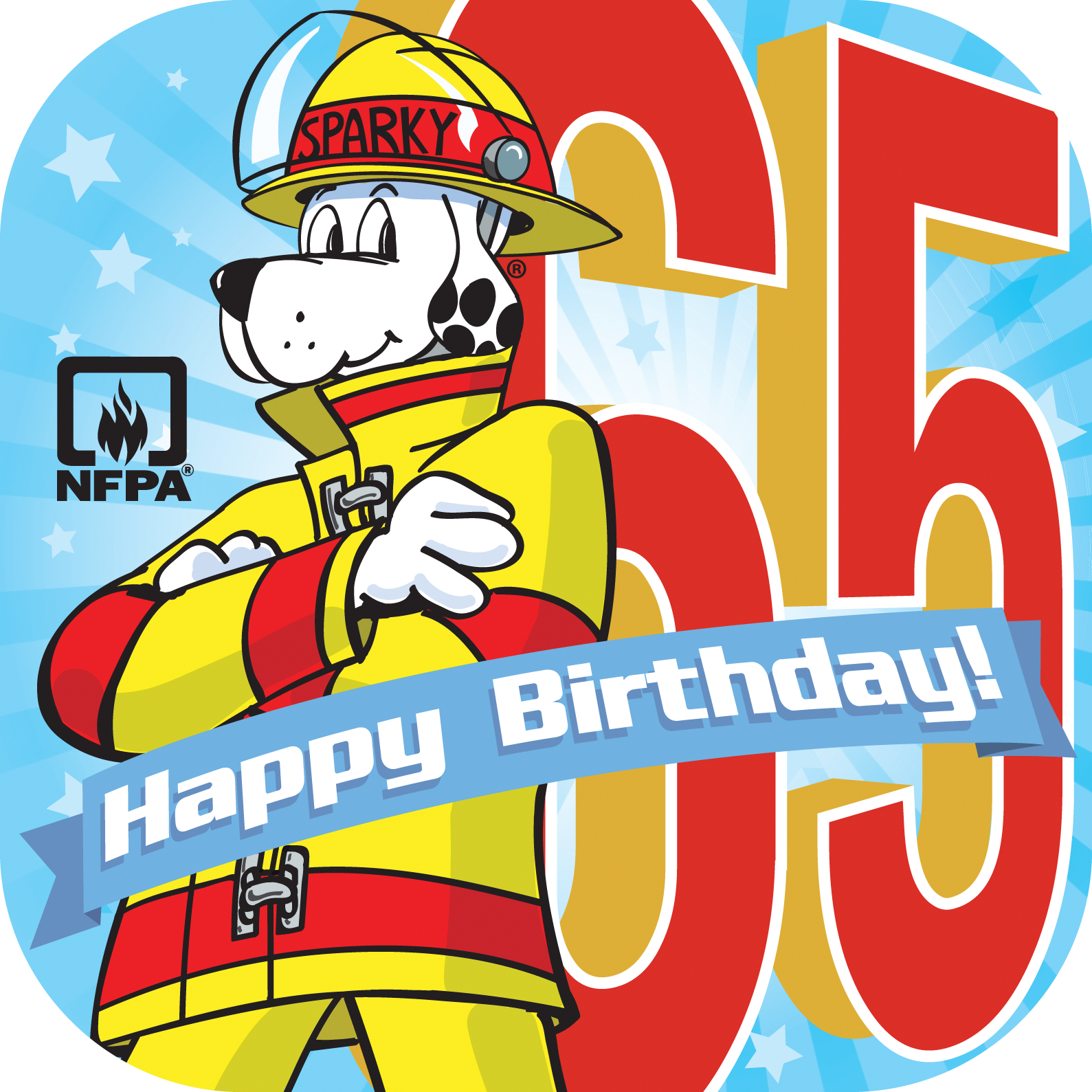 Join Our Thunderclap To Wish Sparky The Fire Dog A Happy Birthday On March 18th Sparkys65th