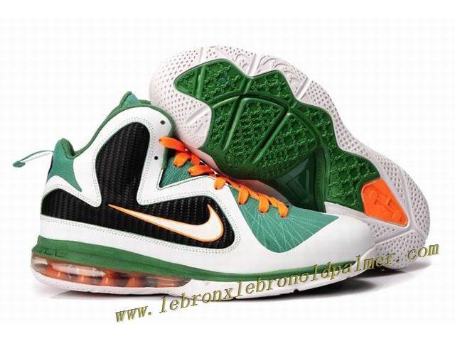 new products b8768 86e8f New Nike Zoom LeBron 9 Shoes Green White Black