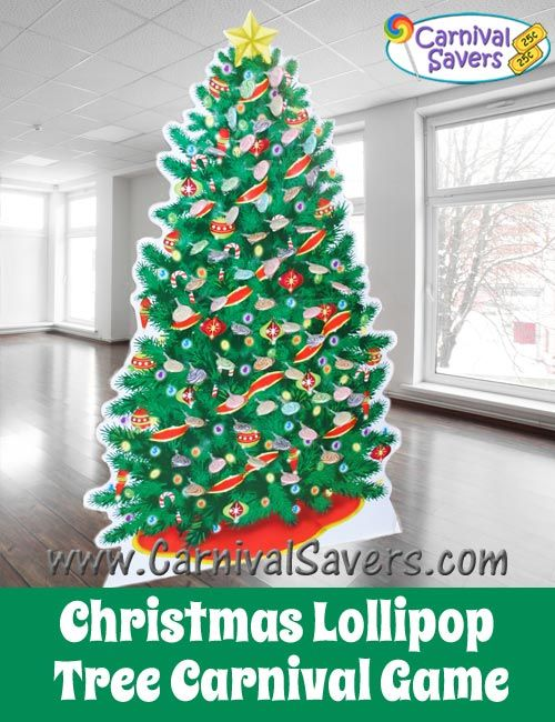 Christmas Lollipop Tree