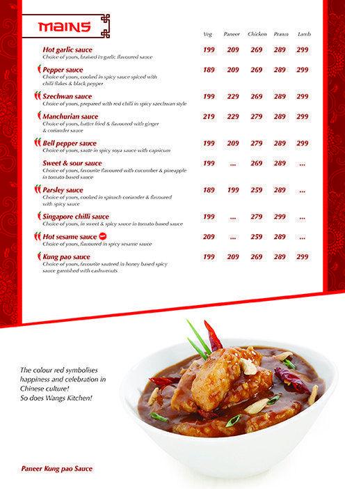 Wangs Kitchen Nungambakkam Menu Stuffed Peppers Recipes Food