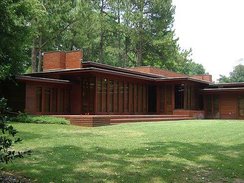 Rosenbaum House. 1940. Addition In 1948. Usonian Style. Florence, Alabama.