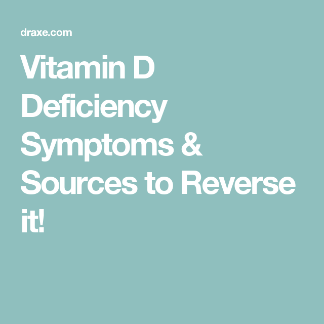 622439d78 The Vitamin Deficiency Up to 90% of People Have? | Healthy Habits ...