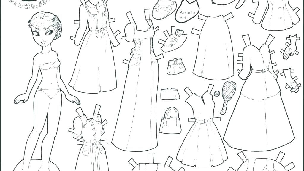 Paper Doll Coloring Pages Frozen Paper Dolls Coloring Pages Doll Printable Free Pictures Of Paper Dolls Printable Frozen Paper Dolls Free Printable Paper Dolls