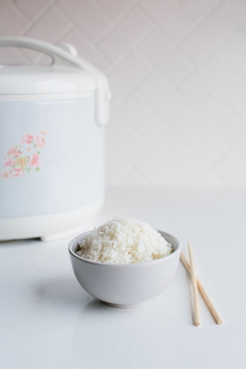 How To Make Rice In A Rice Cooker Recipe How To Cook Rice Rice Cooker Recipes Rice Cooker