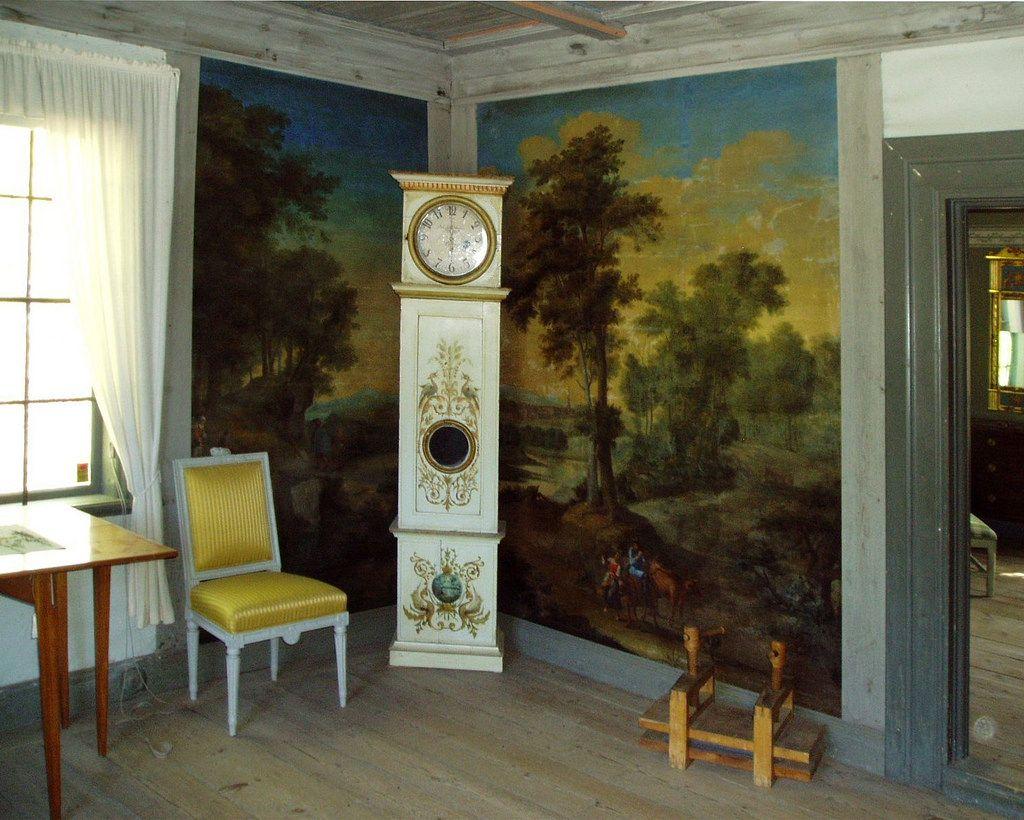Klocka Vallby | Open-air museum in Västerås, inside the mansion