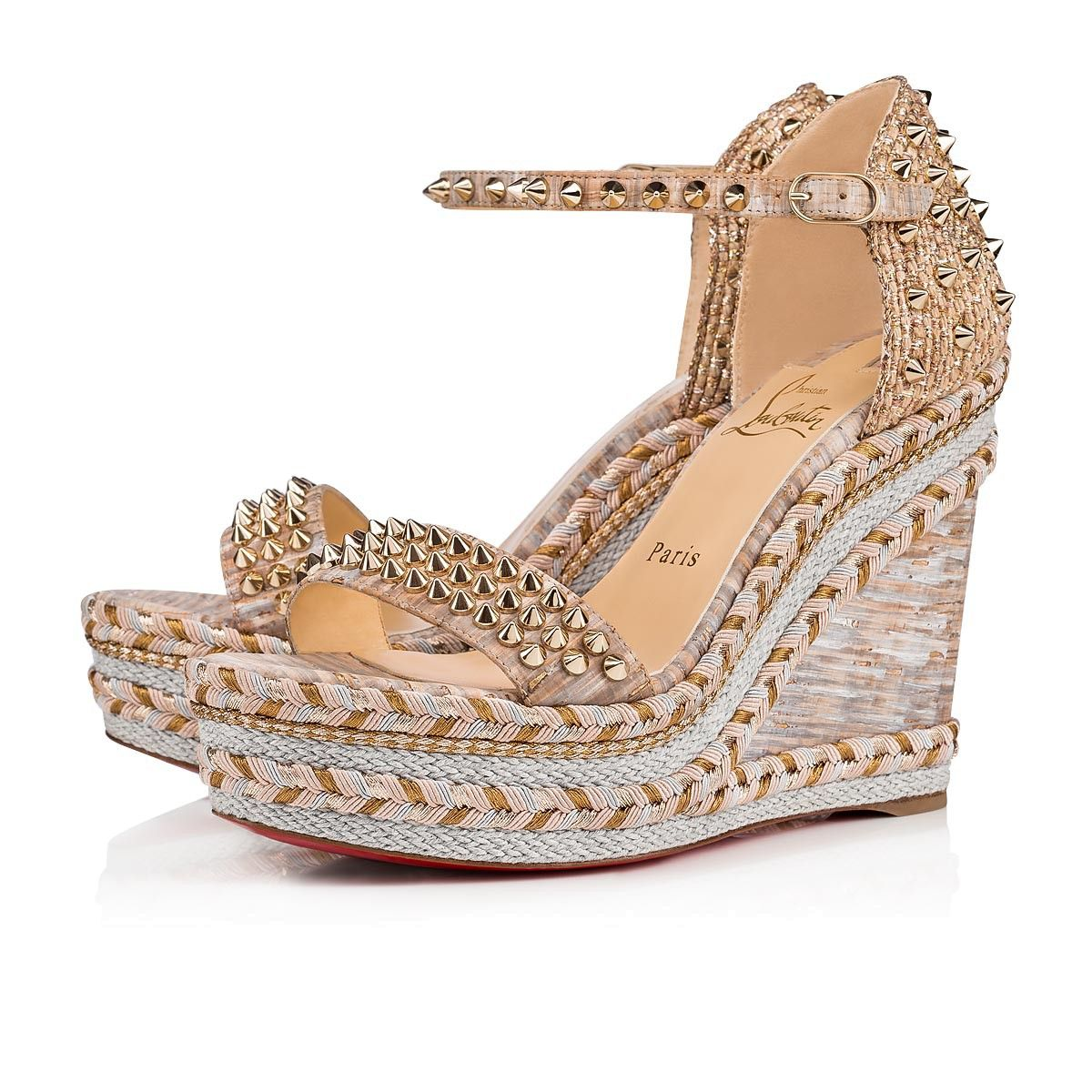 7a43730dc40 Madmonica 120 Version Naturelle Cork - Women Shoes - Christian ...