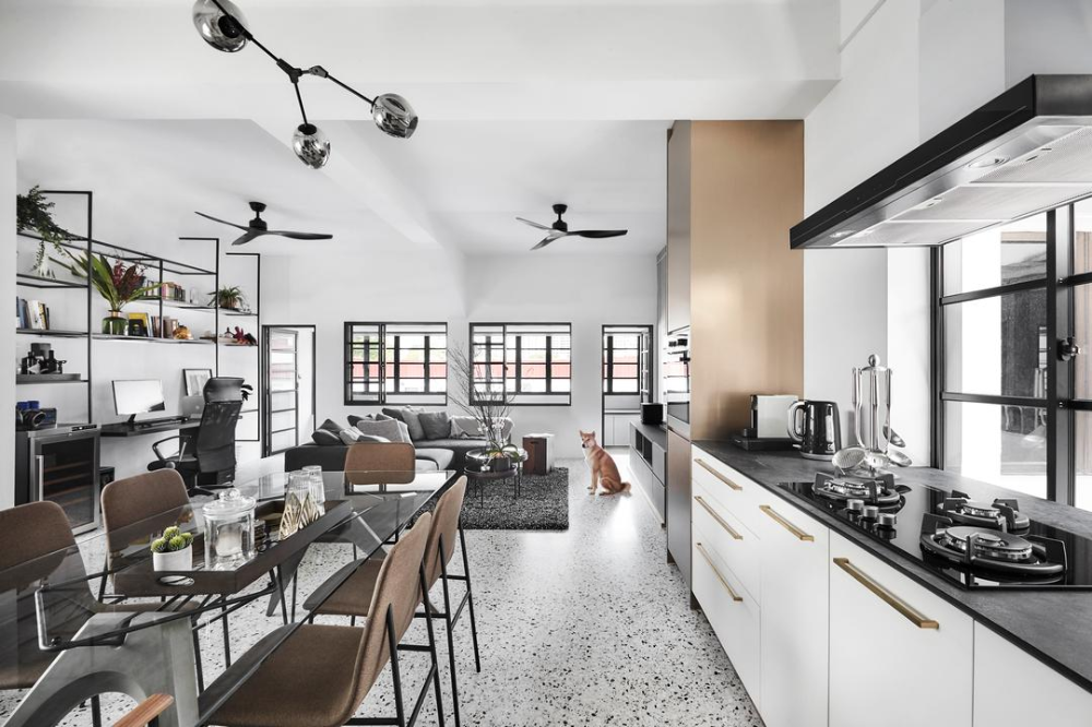 19 Singapore Homes From 2019 To Inspire Your 2020 Renovation Apartment Layout Home Hall Interior