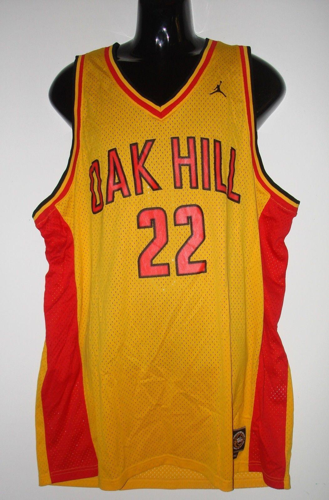 save off e561d c78e1 Carmelo Anthony #22 AIR JORDAN Oak Hill Academy Throwback ...