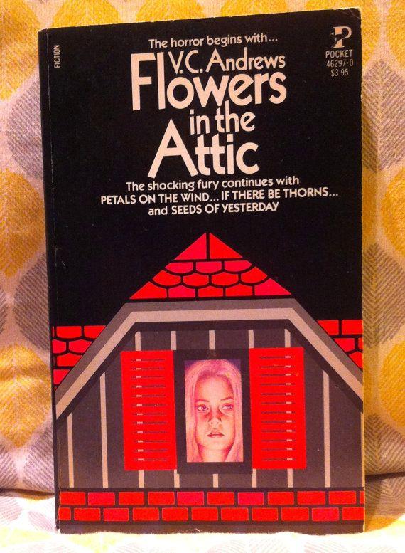 Flowers In The Attic Paperback Original Cover Art Flowers In The Attic Petal On The Wind Cover Art