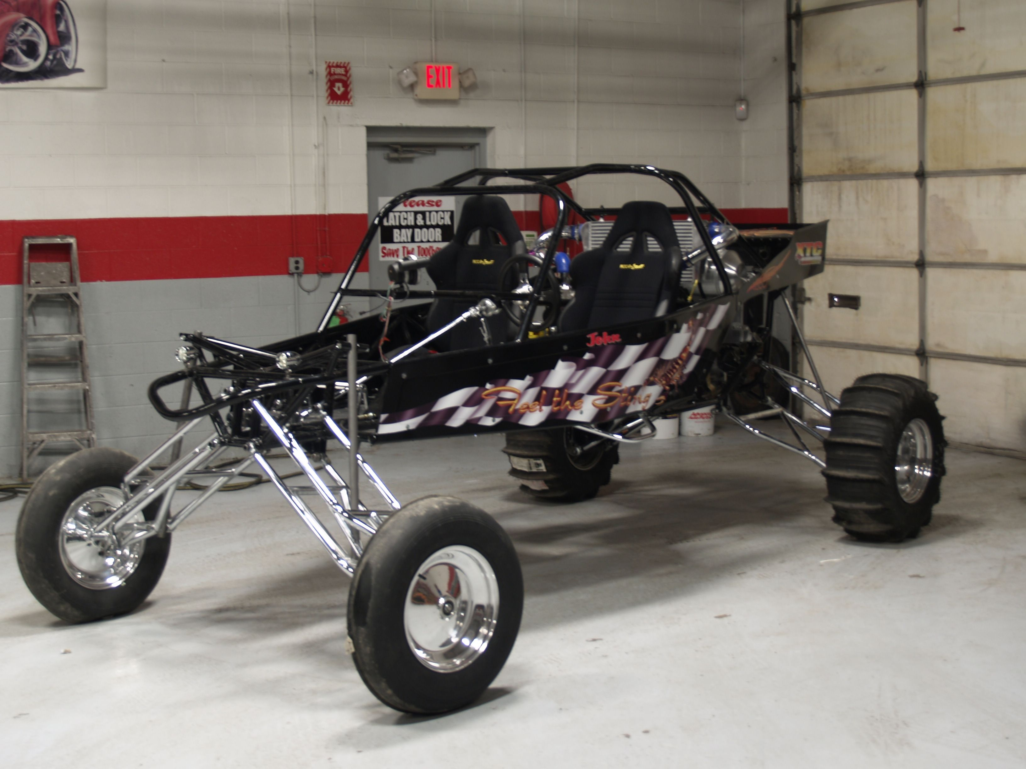Sand Rail Dune Buggy Suspension - Year of Clean Water