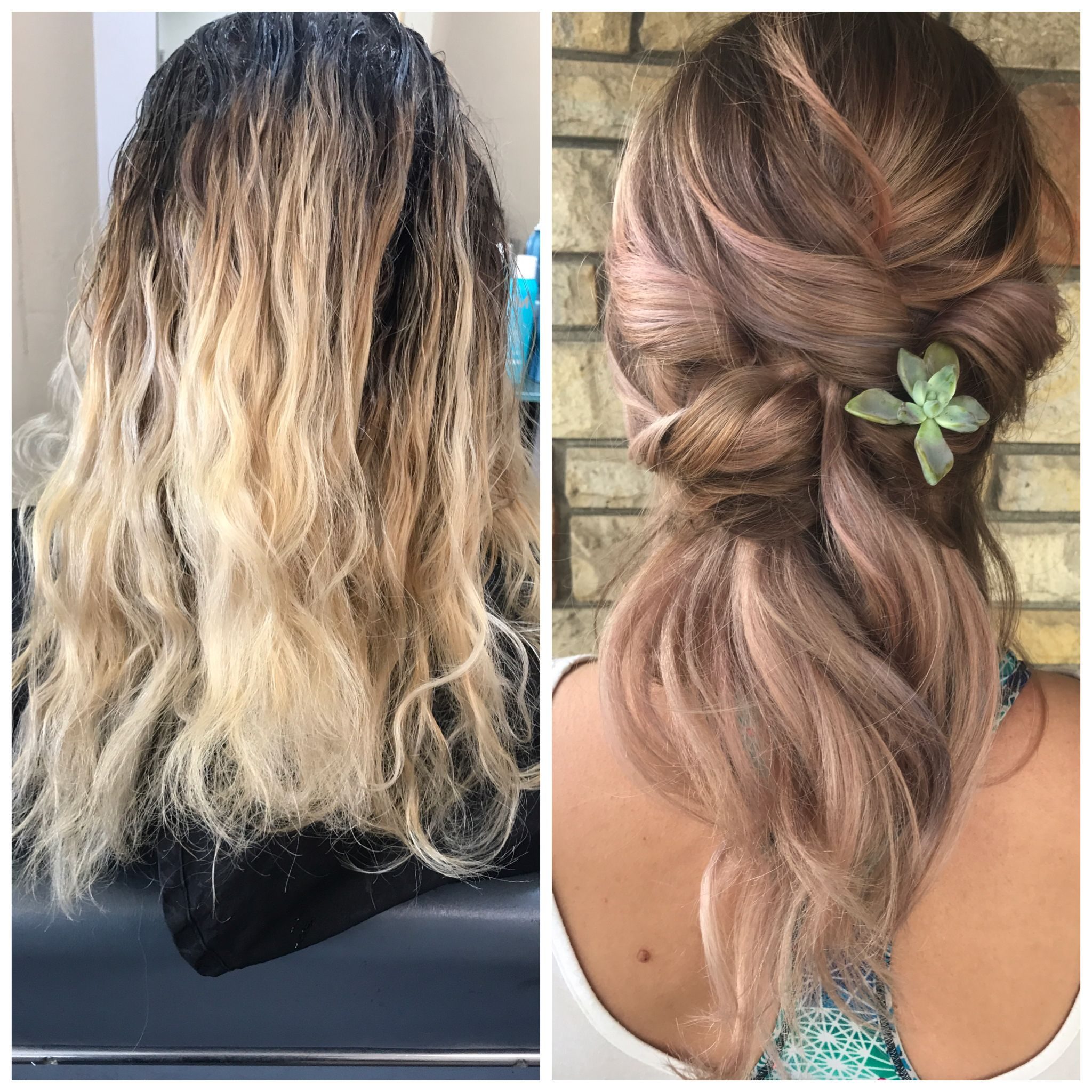 Before And After Color And Style South Lake Tahoe Rah Hair Studio