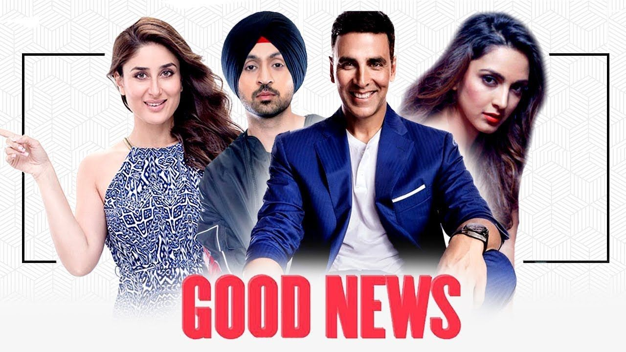 Goodnews Bolywood Upcoming Movie Movie Poster Good News New Hindi Movie Bollywood Movie