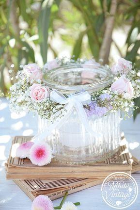 Photo of Fai da te – lanterna con ghirlanda di fiori