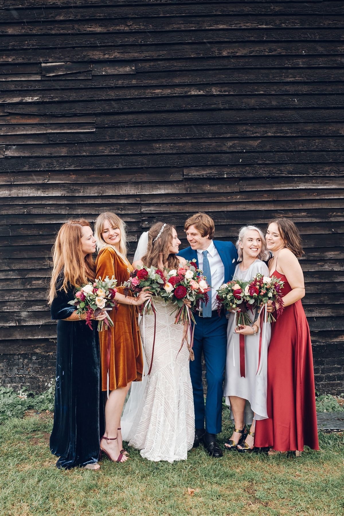 A Dreamcatcher Filled Bohemian Rainy Day Barn Wedding Burnt