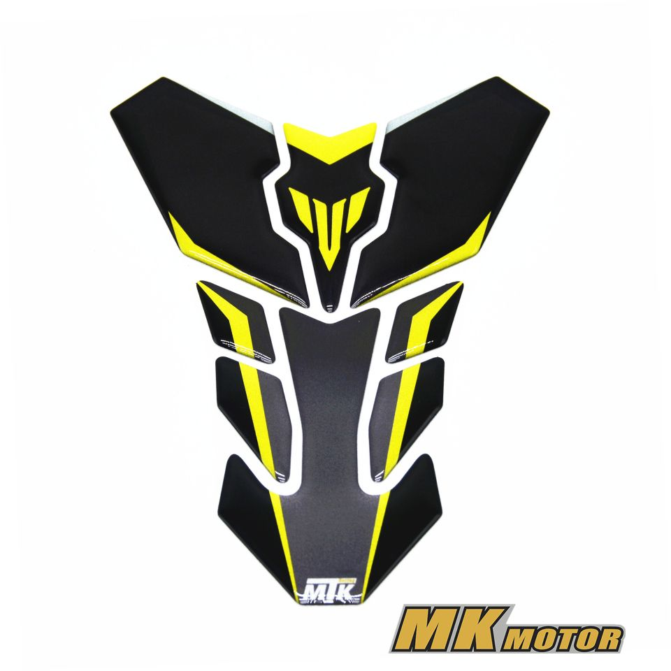 Bysprint 3d reflective adesivi sticker decal emblem protection tank pad cas cap for yamaha mt10 mt 10 mt09 mt07 fz09 mt25