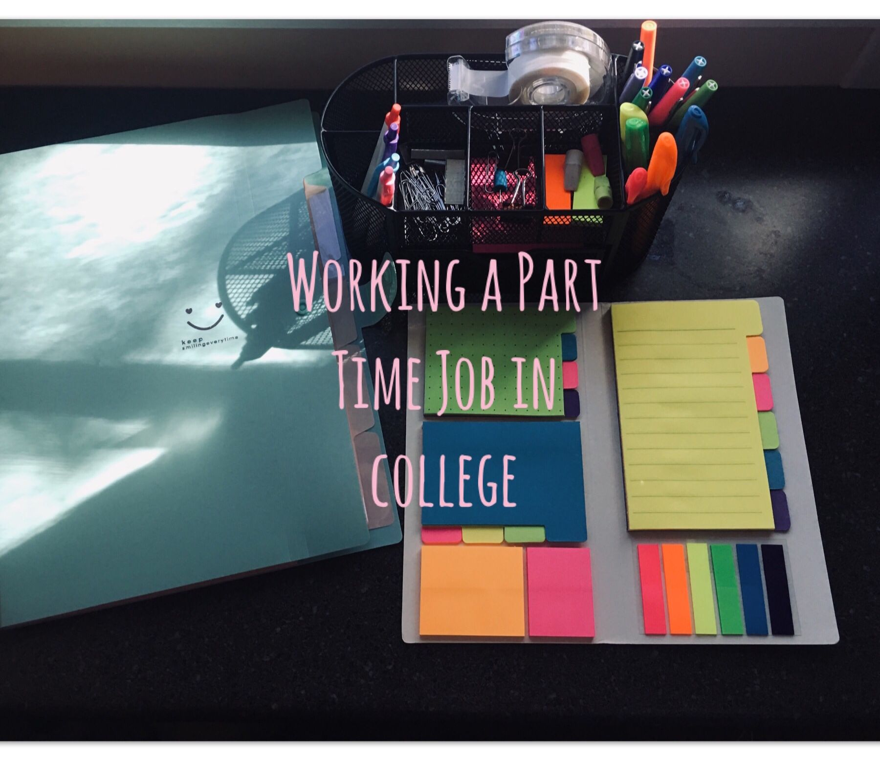 college parttime workandcollege If you have a job while