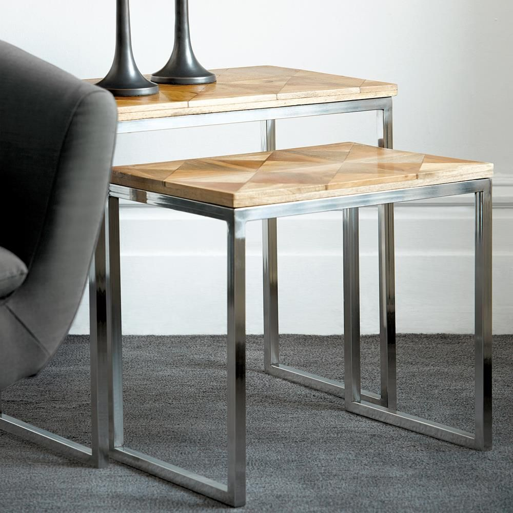 Furniture Finds 7 Nesting Tables That Will Elevate Your Small Space Coffee Table Nesting Tables Metal Nesting Tables [ 1000 x 1000 Pixel ]