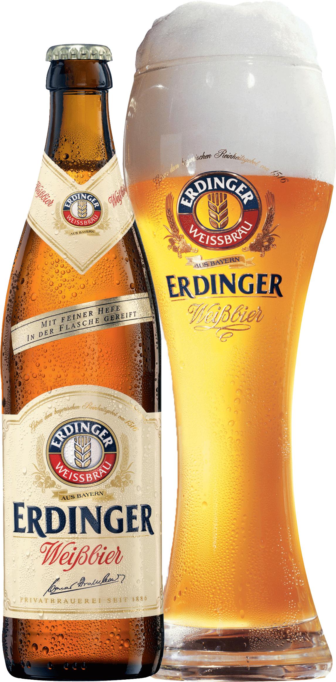 Erdinger Weissbräu Erdinger Weißbier mit Feiner Hefe 5,3% ...