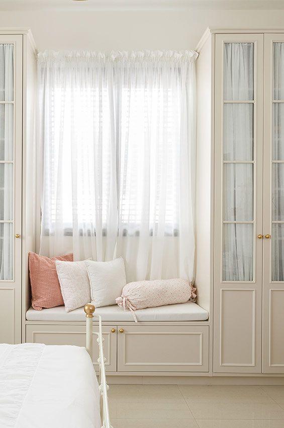 עיצוב חדר נערה בסגנון כפרי