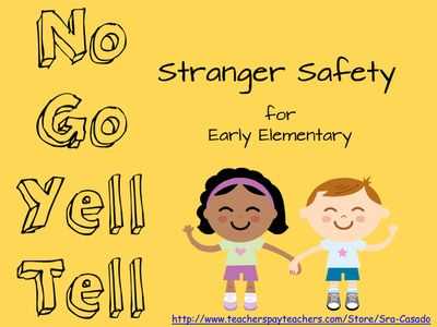 teaching stranger danger to preschoolers safety for elementary students teaching 462