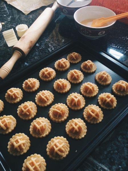 Malaysische Küche | Nyonya Ananas Tortchen Als Nachtisch Malaysische Kuche Nyonya