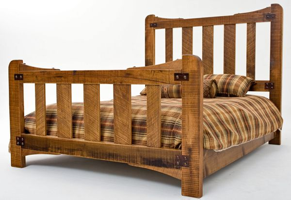 Gorgeous Unique Rustic Bedroom Furniture Set. Handcrafted From ...