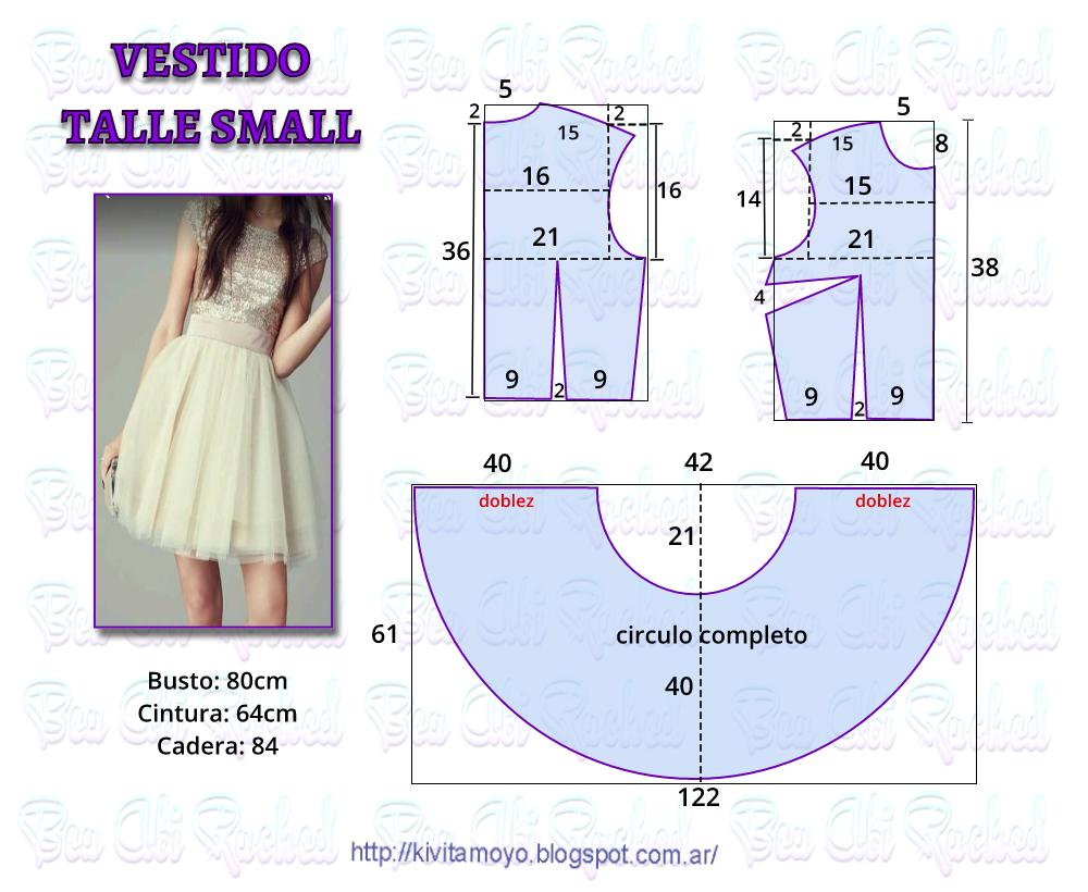 KiVita MoYo: Vestido talle Small - y /o 14 años | vestidos ...