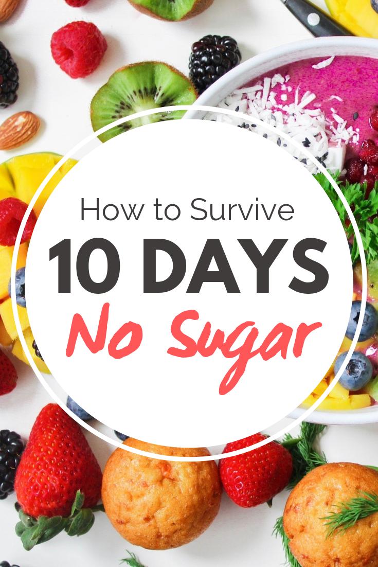 10-Day Sugar Detox Menu Plan Made Easy