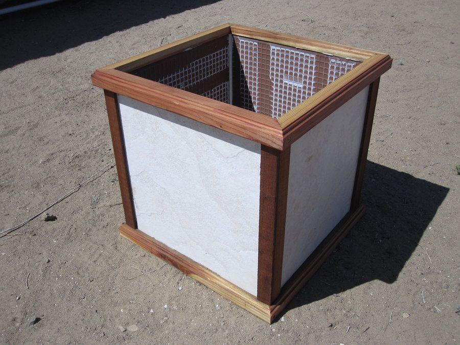 Floor Tile Planter Box Google Search Hardscapes