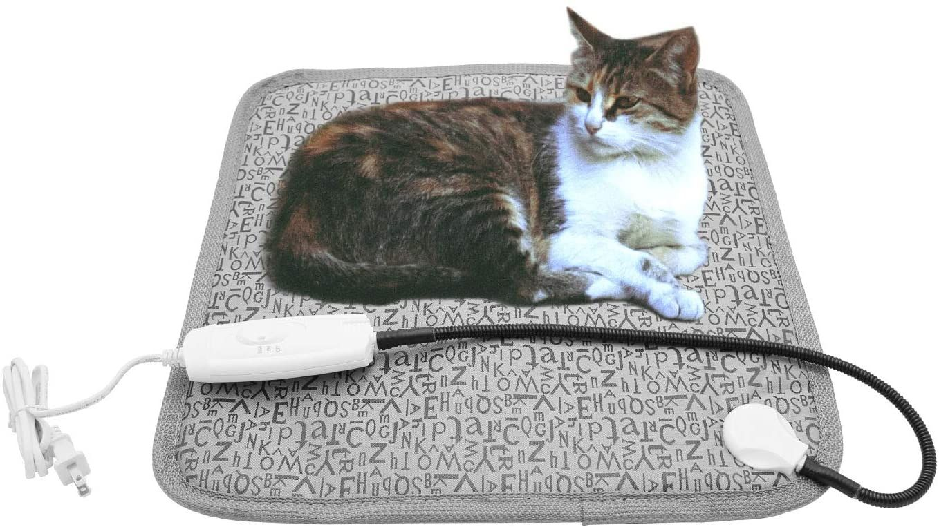 Pet Heating Pad For Cat Dog Soft Electric Blanket Auto Temperature Control Waterproof Indoor House Heater Animal Bed Wa Pet Heating Pad Pet Beds Heated Cat Bed