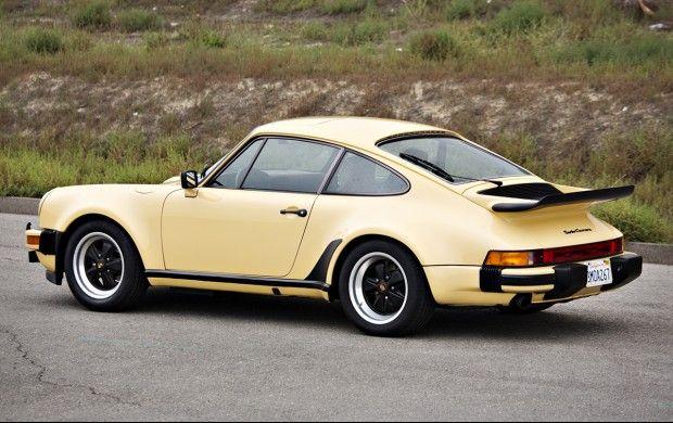 1977 Porsche 930 with unusual Desert Beige with Brown